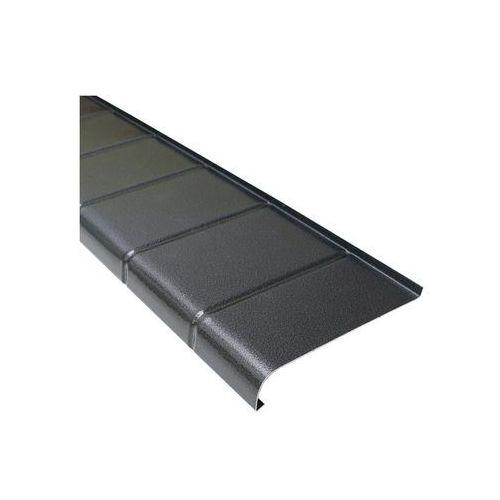 Parapet zewnętrzny aluminiowy antracyt 25 x 120 cm marki Domidor