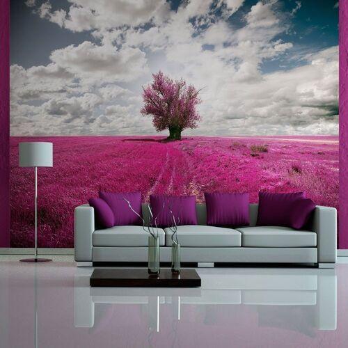 Fototapeta - łąka w kolorze fuksji marki Artgeist