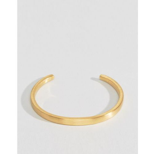 cuff bracelet in gold - gold marki Seven london