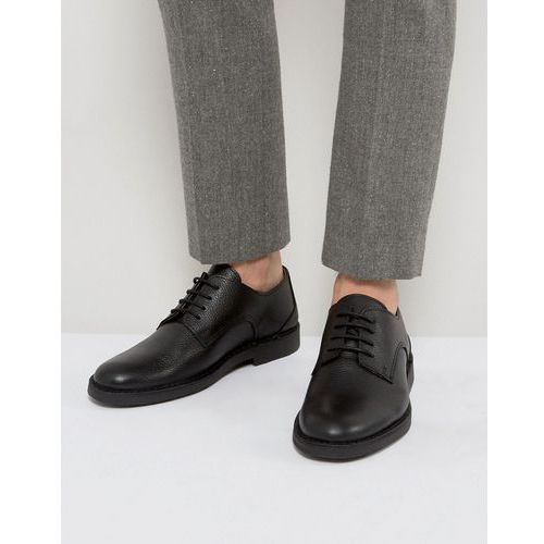 royce desert leather shoes in black - black marki Selected homme