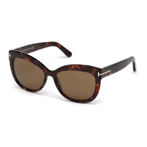 Tom ford Okulary słoneczne ft0524 polarized 54h