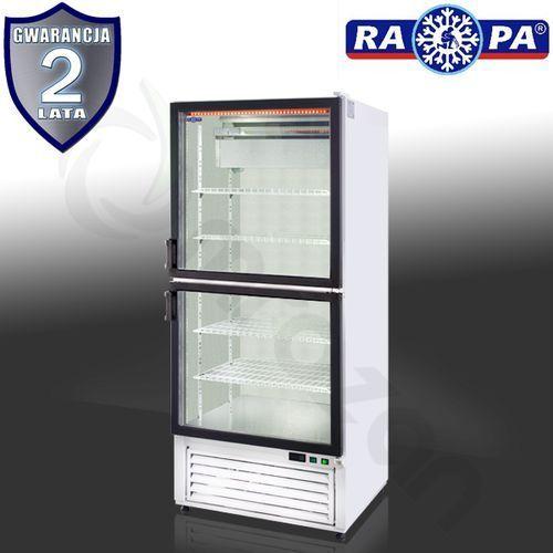 Szafa chłodnicza przeszklona sch-s 825 2d marki Rapa