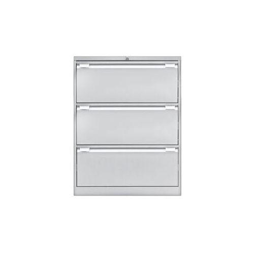 Szafka na kartotekę wiszącą, 2-torowa,3 szuflady, DIN A4