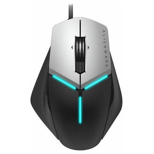 Dell Alienware Elite Gaming Mouse - Myszy - Optyczny - 13 - Czarny (5397184162590)