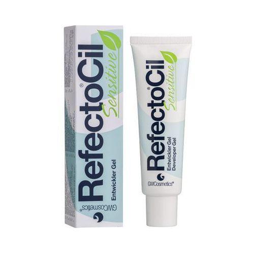 sensitive żel do brwi i rzęs nadający kolor (developer gel) 60 ml marki Refectocil