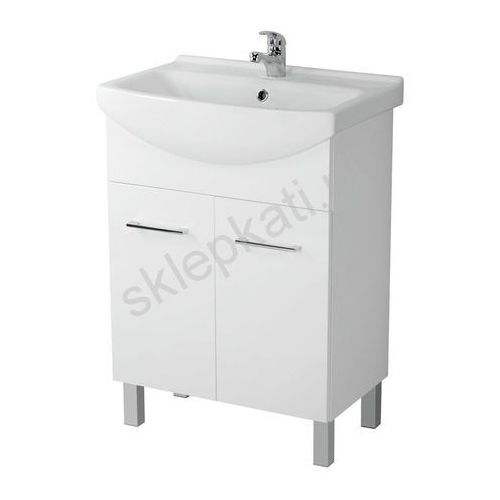 CERSANIT OLIVIA Szafka pod umywalkę libra 60, biała S543-006-DSM (5907720644796)