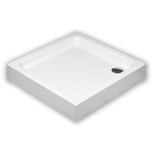 SCHEDPOL GRANDO PLUS Brodzik kwadratowy 80cm, akrylowy 3.0124 (5903263392941)