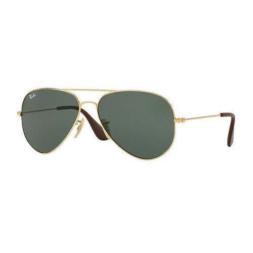 Ray-ban rb 3558 001/71 okulary przeciwsłoneczne + darmowa dostawa i zwrot