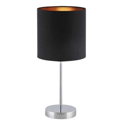 Rabalux Lampa stołowa monica 2523 lampka 1x60w e27 czarny/złoty