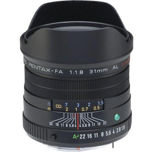 Pentax  smc fa 31mm f/1.8 al limited black