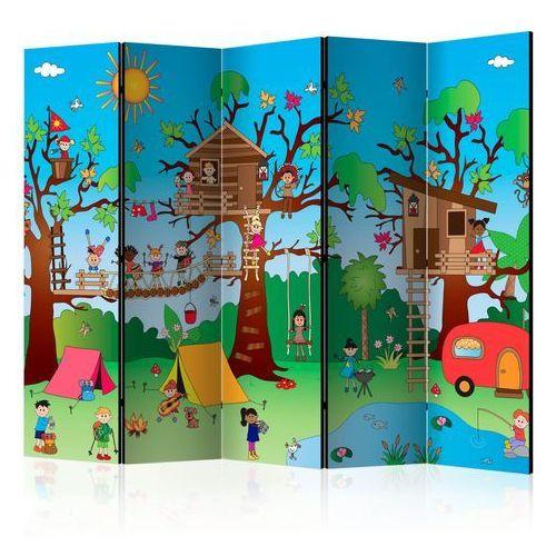 Parawan 5-częściowy - szczęśliwe dzieci ii [room dividers] marki Artgeist