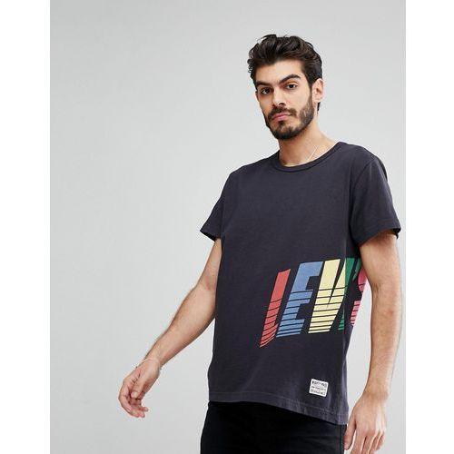 Levi's Mighty Wrap Around Logo T-Shirt in Black - Black, 1 rozmiar