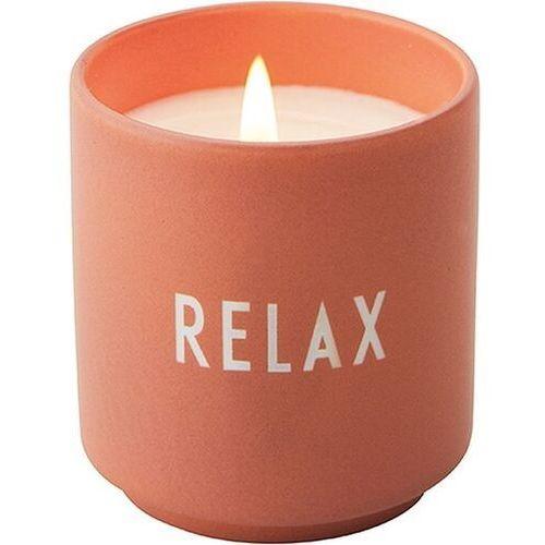 Świeca zapachowa design letters relax