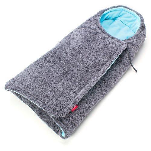 BeeMy Śpiworek/otulacz do wózka, Grey/Spearmint