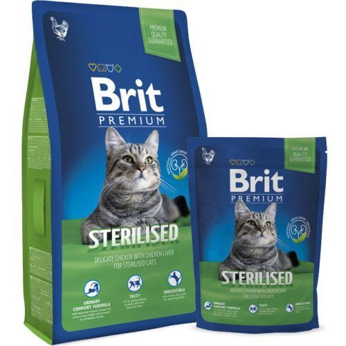 premium cat adult sterilised 300g marki Brit