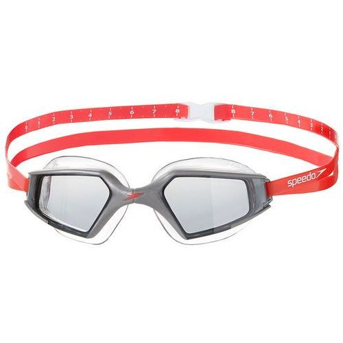 Speedo aquapulse max 2 okulary pływackie szary/czerwony 2018 okulary do pływania