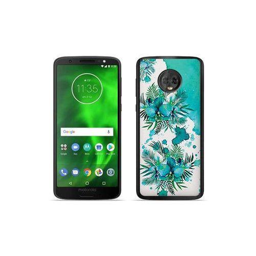 etuo Fantastic Case - Motorola Moto G6 - etui na telefon Fantastic Case - turkusowa orchidea, ETMT717FNTCFC005000
