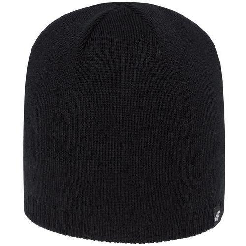 4f Męska czapka h4z18 cam001 20s czarny s/m