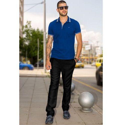 Meskie spodnie FRANKLIN BLACK