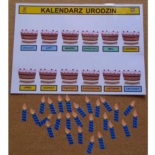 Kalendarz urodzin w przedszkolu marki Bystra sowa. Najniższe ceny, najlepsze promocje w sklepach, opinie.