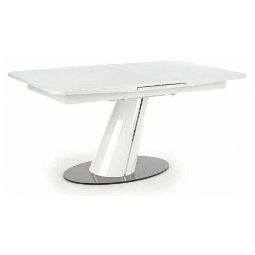 Biały lakierowany stół rozkładany - Hexo