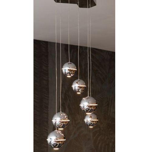 Lampa wisząca Maxlight Zen P0315 6x4W LED chrom, P0315
