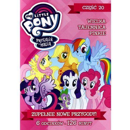 My Little Pony: Przyjaźń to magia, Część 20: Wielka tajemnca Pinkie (DVD) - DARMOWA DOSTAWA KIOSK RUCHU