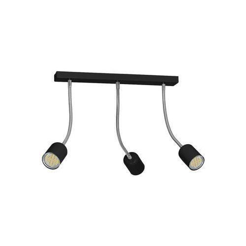 Oświetlenie punktowe MAXI 3xGU10/40W/230V czarny (5907565996449)