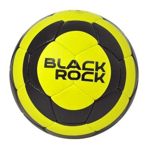 Piłka nożna black rock zielono-czarny (rozmiar 5) marki Axer sport