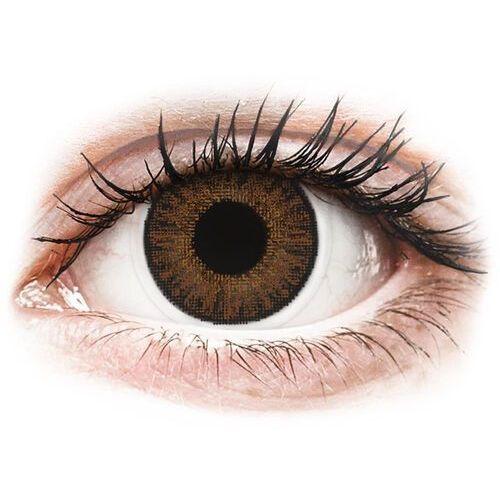 color daily - brown - jednodniowe korekcyjne (10 soczewek) marki Topvue