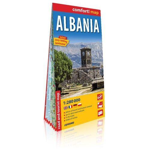 Albania (Albania) laminowana mapa samochodowo-turystyczna 1:280 000 - Praca zbiorowa (2019)