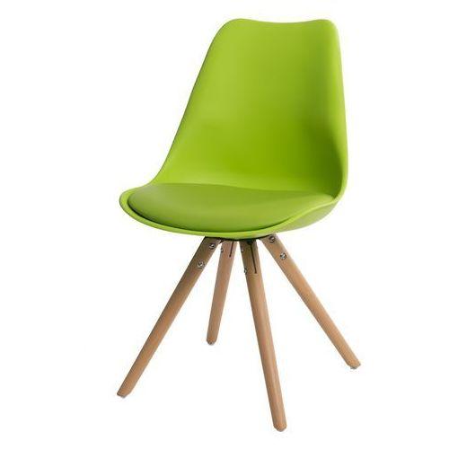 Krzesło Norden Star WYPRZ zielone MODERN HOUSE bogata chata, kolor zielony