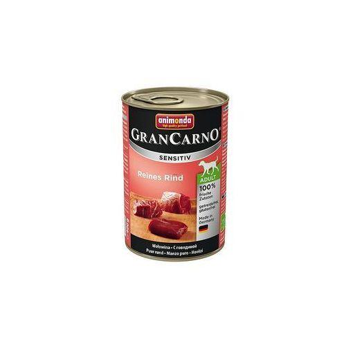 ANIMONDA Grancarno Sensitiv smak: wołowina 400g