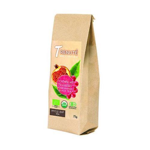 T'renute (herbaty) Herbata czarna o smaku granatu i żurawiny youthful me bio 75 g - t'renute