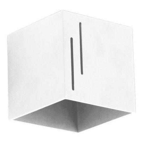 Lampex Kinkiet quado modern b biały - biały