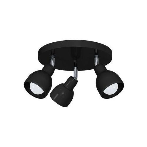 Oświetlenie punktowe PIK 3xE27/60W/230V czarny (5907565996876)