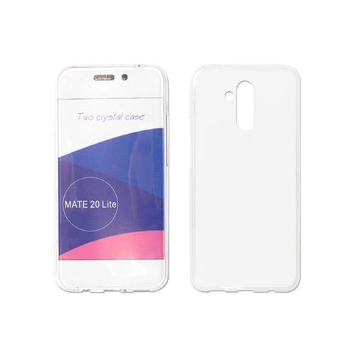 Etuo full body slim Huawei mate 20 lite - etui na telefon full body slim - przezroczysty