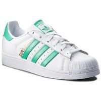 Buty adidas - Superstar B41995 Ftwwht/Hiregr/Goldmt, kolor biały