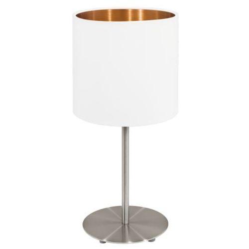 Lampa stołowa pasteri biała/miedziana - 18 cm, 95048 marki Eglo