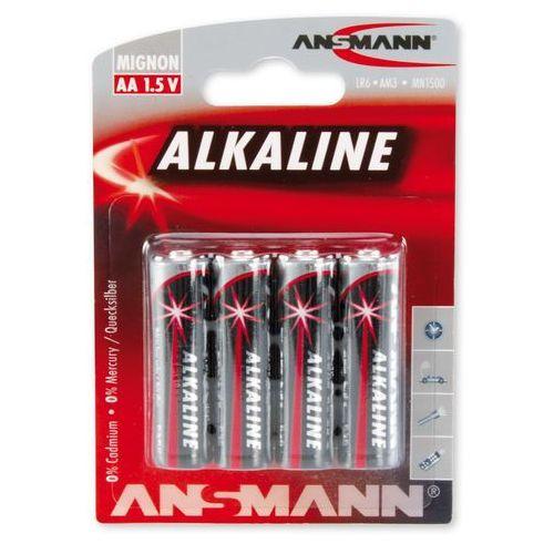 Ansmann Baterie alkaliczne RED 4xAA (4013674005529)