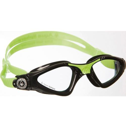 Aquasphere okulary Kayenne junior jasne szkła, black-lime