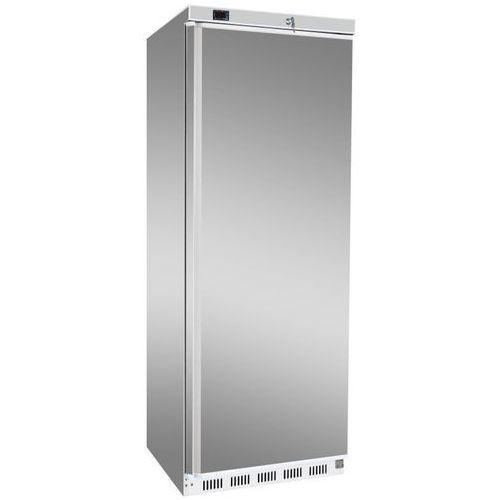 Szafa chłodnicza | srebrna | 350L | +2 do +8 °C | 600x585x(H)1855 mm