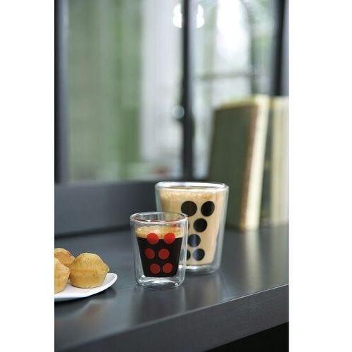 Zak!designs Zak! designs - szklanka 75 ml z podwójnymi ściankami - biała