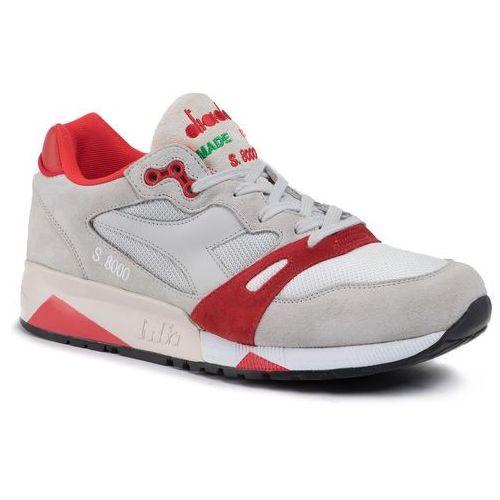 Diadora Sneakersy - s8000 nyl ita 501.170470 01 c6602 lunar rock/fiery red