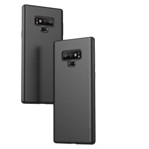 Samsung Galaxy Note 9 ORYGINALNE ETUI SLIM X-LEVEL OCHRONA Czarny, kolor czarny