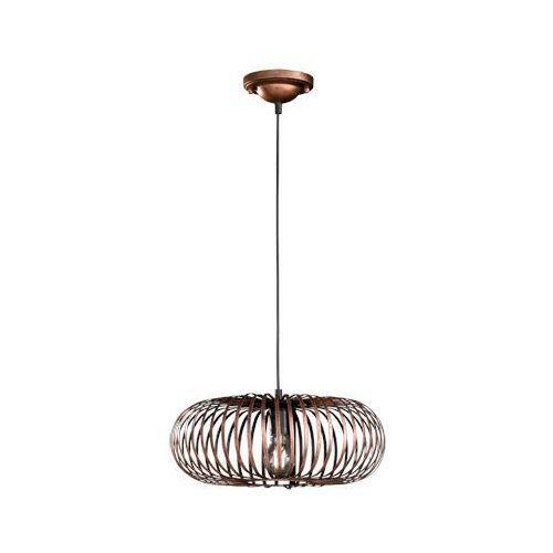 Industrialna LAMPA wisząca JOHANN 306900162 Trio druciana OPRAWA metalowy zwis miedziany