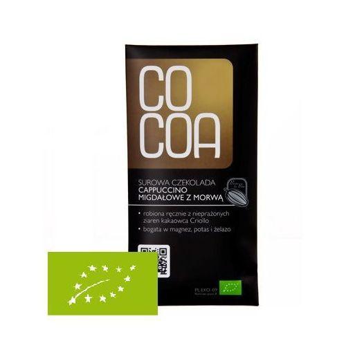 Cocoa Czekolada cappucino migdałowe z morwą 50g