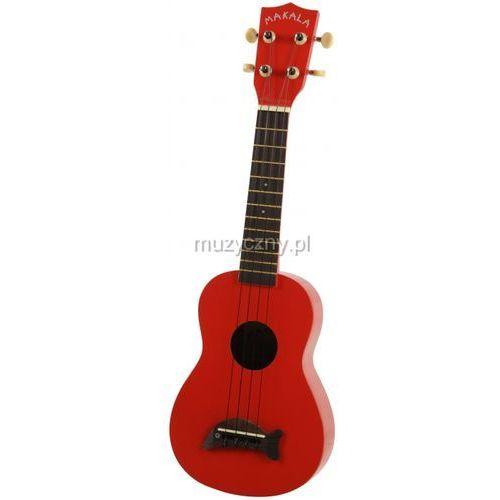 makala sd-car ukulele sopranowe, candy apple red marki Kala