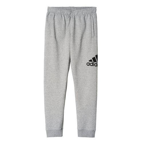 Spodnie adidas Logo Fleece Sweat Pants AB6528, kolor szary