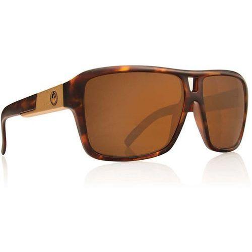 okulary słoneczne DRAGON - The Jam Polar 1 Matte Tort Bronze Polar (306) rozmiar: OS, kolor żółty